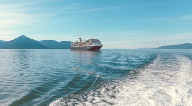 The Boat by Mako Miyamoto Travel and Lifestyle Photography Cruise Alaska ocean waves blue