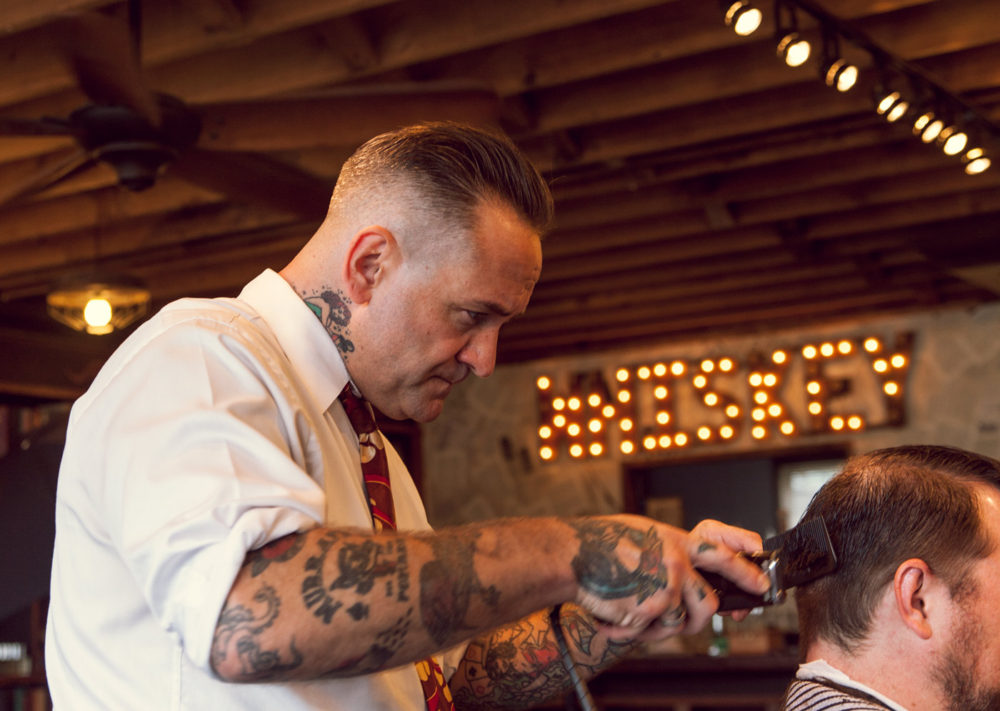 The Modern Man Barber Mako Miyamoto Lifestyle Photography