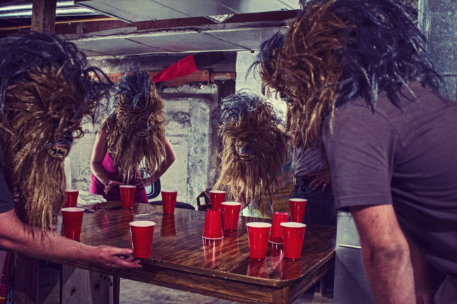 Flip Cup Mako Miyamoto Photography Lifestyle Wookie Star Wars Chewbacca Chewy Bigfoot party red cup