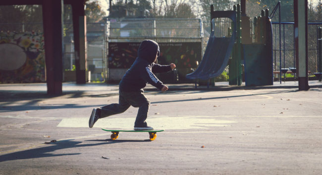 Skate or Die by Mako Miyamoto Travel and Lifestyle Photography kid skating