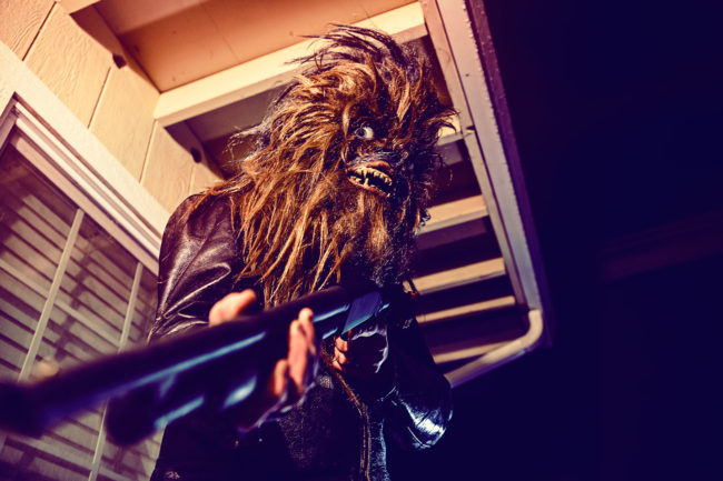 The Hitman Mako Miyamoto Photography Lifestyle Wookie Star Wars Chewbacca Chewy Bigfoot shotgun gun badass leather killer