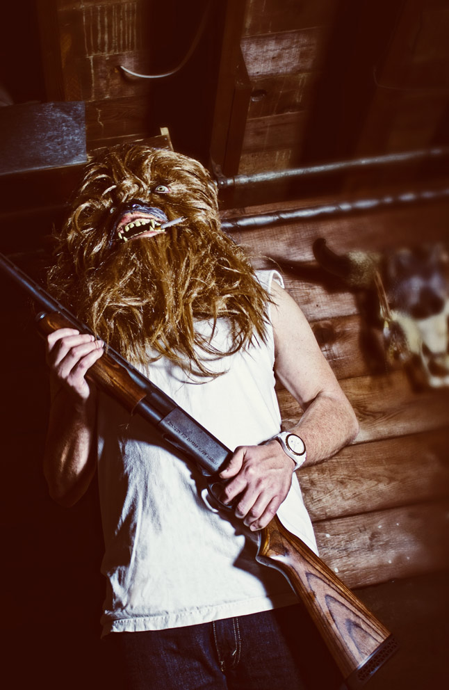 The Beginning Mako Miyamoto Photography Lifestyle Wookie Star Wars Chewbacca Chewy Bigfoot shotgun gun badass killer