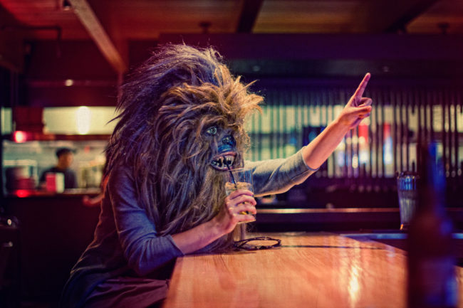Just One More Mako Miyamoto Photography Lifestyle Wookie Star Wars Chewbacca Chewy Bigfoot drinking bar party night