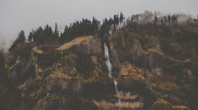 Mountain Ghosts Mako Miyamoto Photography Hills and Fog in the Gorge Oregon