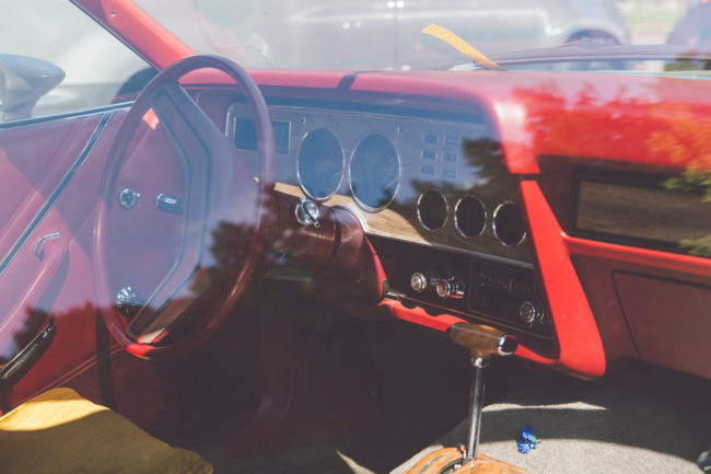 Cockpit by Mako Miyamoto Travel and Lifestyle Photography car interior red