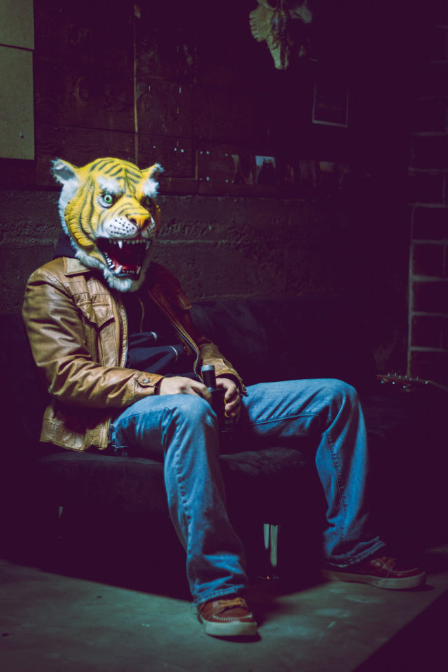 Come Closer by Mako Miyamoto Travel and Lifestyle Photography tiger scary leather
