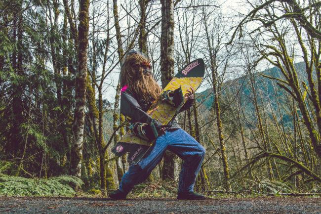 Shred Mako Miyamoto Photography Lifestyle Wookie Star Wars Chewbacca Chewy Bigfoot forest nature