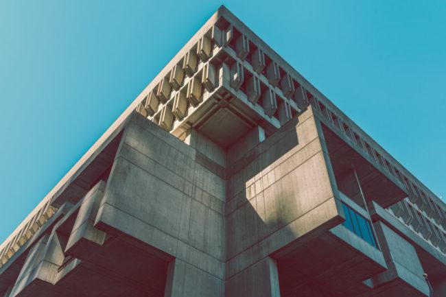 Monolith by Mako Miyamoto city photography boston cement